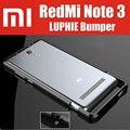 redmi note 3 pro original luphie highly oxidized aluminum metal frame for xiaomi redmi note3 prime bumper QMK1210CN