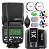 2 pcs Godox פלאש V860II Li סוללה E TTL HSS 1/8000 s Bateria מצלמה פלאש Speedlite V860IIC + XIT C עבור Canon DSLR + מתנת ערכה-בפלאשים מתוך מוצרי אלקטרוניקה לצרכנים באתר
