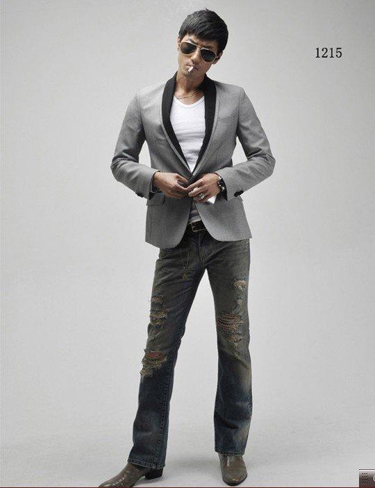 free-shipping-blazer-men-s-suit-leisure-Gray-suits-black-collars-Casual-suit -jacket-Men-s.jpg