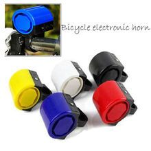 Electronic Alarm Electric Warning Bell Bicycle Horn Loud Handle Bike Cycling  MTB Road Bicycle Bike Electronic Bell Loud Horn usb charging bicycle bell electric horn with alarm loud sound horn ring mtb road bike handlebar cycling safety anti theft alarm