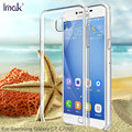 Original IMAK Clear Hard Silicone Cover for Samsung Galaxy C7 Case Wearproof Crystal Case for Samsung Galaxy C7 C7000