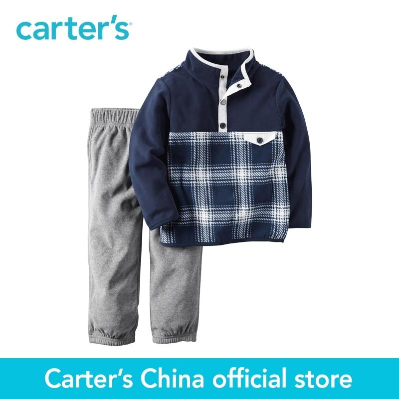 Carter s 2pcs baby children kids 2 Piece Fleece Pullover Pant Set 229G260 sold by Carter