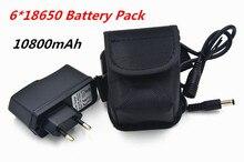 Свет велосипеда 10800 мАч 18650 аккумулятор 8.4 В для SolarStorm X2 X3 T6 лампы + 8.4 В зарядное устройство