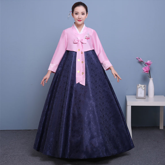Très Traditionnel coréen robe hanbok coréen costume national vêtements  RX67