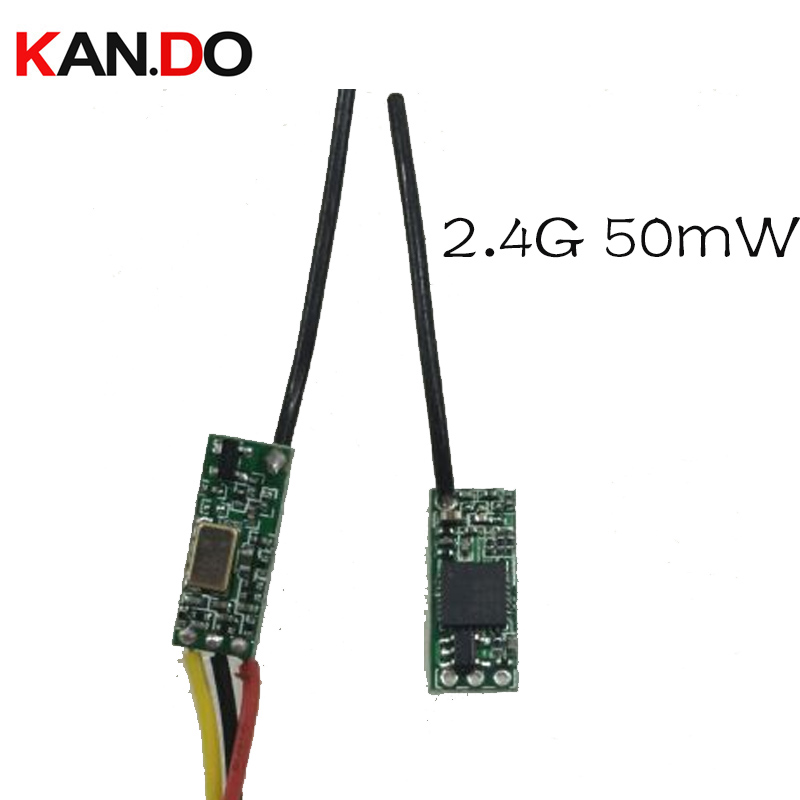 2.4G wireless transmitter 50mw cctv 2.4G wireless CCTV transmission 2.4G mould wireless drone transceiver for FPV transmitter