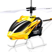Original  Syma W25 two channel mini remote control helicopter anti collision resistant alloy helicopter children's toys|RC Helicopters|Toys & Hobbies -