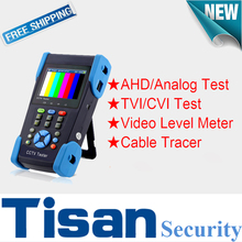 3.5 inch AHD CVI 3.0TVI Analog CCTV tester Monitor in one with Video level meter, Cable Tracer test and Video Level Meter test