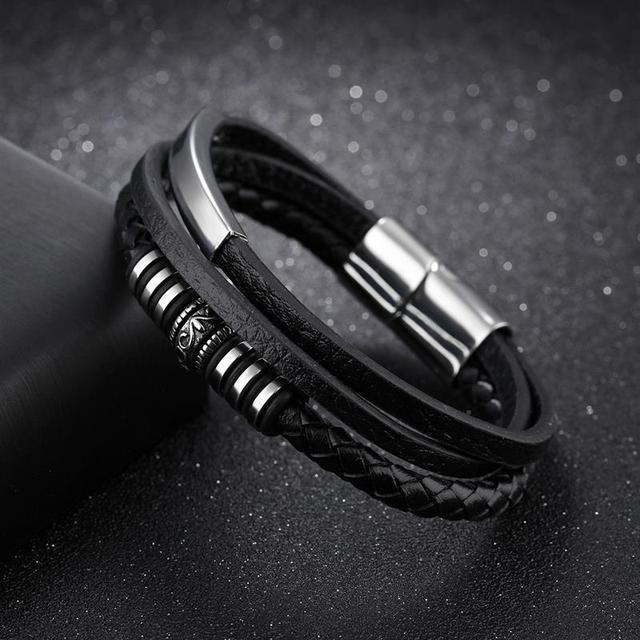 Men's Fashion Leather Bracelets