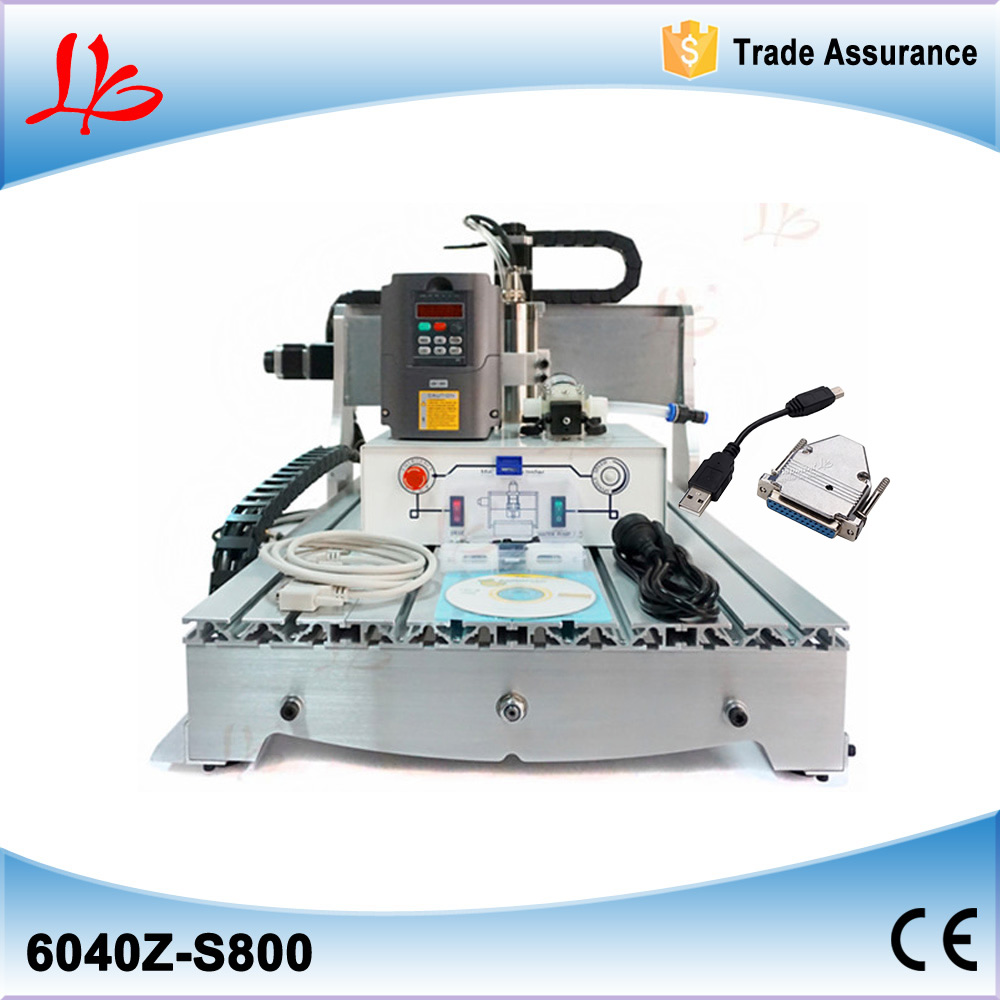 CNC cutter 6040,MACH3 control,3 Axis Pcb Milling machine,Wood Router,CNC carving High speed