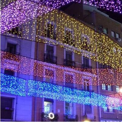 Christmas decoration garland led christmas light outdoor decoration christmas decoration garland led christmas light outdoor decoration led curtain string light holiday wedding luzes de natal in led string from lights mozeypictures Choice Image
