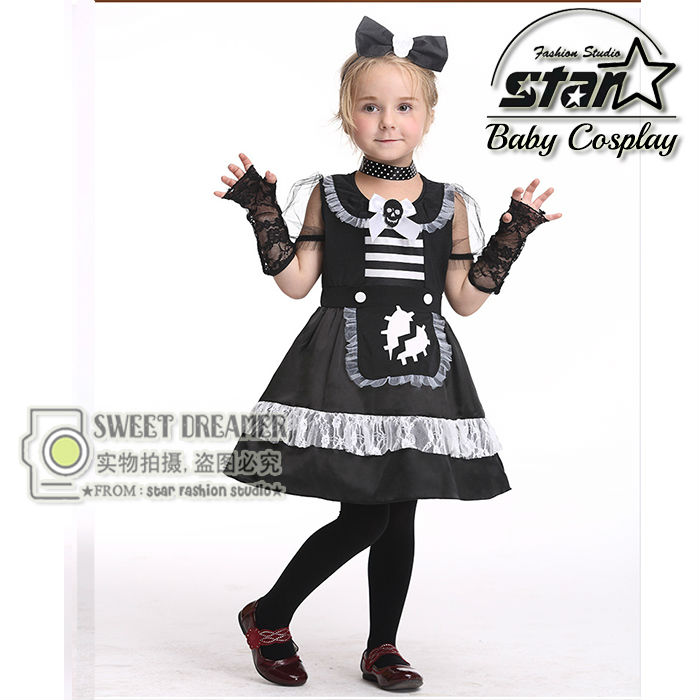 Halloween Christmas Costumes Kids Girls Children Cat Kitty Princess Catwoman Style Dress Party Cosplay Performance Clothes стоимость