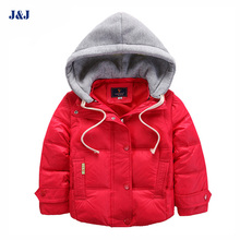 Kids fashion removable boys coat duck down snow wear children clothes winter coat boys jacket out wear 3 way to wear clothings