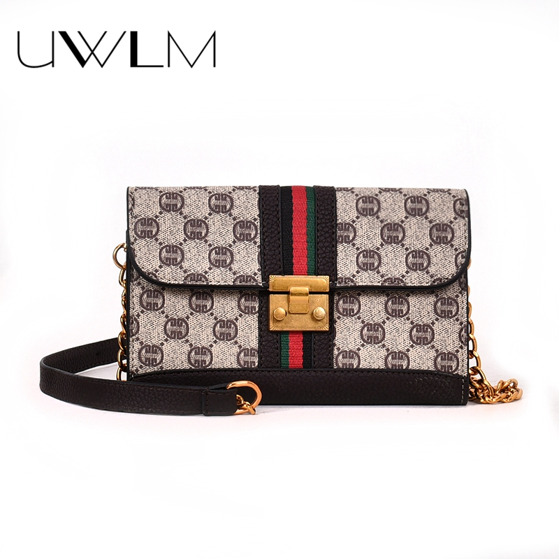 Small messenger bag Chain Lock Shoulder Bags Luxury Brand Handbags Women Bags Designer Letter Panelled Female Evening Clutch BagSmall messenger bag Chain Lock Shoulder Bags Luxury Brand Handbags Women Bags Designer Letter Panelled Female Evening Clutch Bag