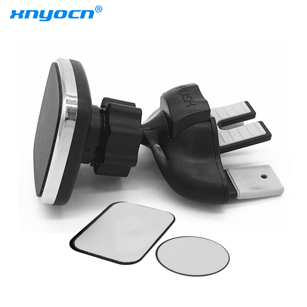 1pc Magnetic Car CD Slot Air Vent Mount Stand Cell Phone Bracket Adjustable Car Mobile Phone Holder Universal For IPhone/Samsung
