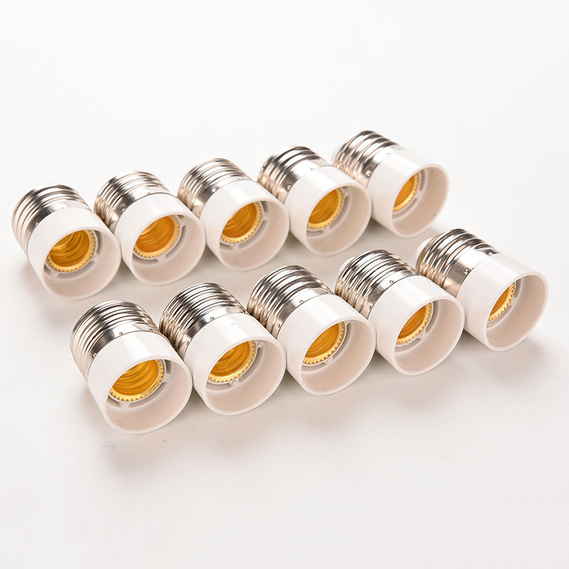 New 5Pcs Light Bulb Base Type Adapter Fireproof Material E27 To E14 Lamp Holder Converter Socket Conversion