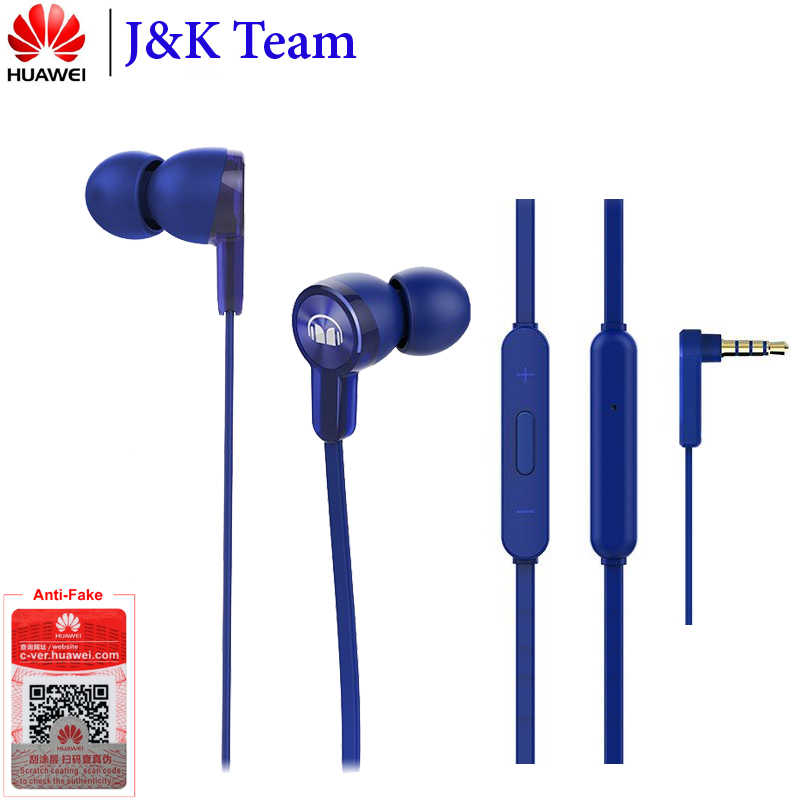 Huawei Honor auricular Honor Monster AM15 3,5mm in-ear con Control remoto y micrófono 1,2 m para Honor 9 Lite
