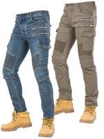 Pantalones Motocicleta Hombre Motorcycle Racing Jeans motor broek Protective Pants pantalon moto lady/men motorbike Riding pants