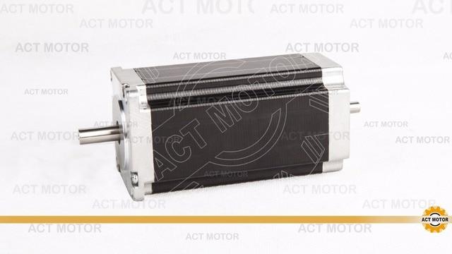 4-LEAD  nema 23  425OZ-IN  CNC dual shaft stepper motor/stepping motor  3A,112MM