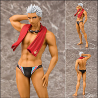 25cm Fate stay night Emiya Shirou Action figure Anime Doll Cartoon Figure PVC Collection Model Toy for friends gift