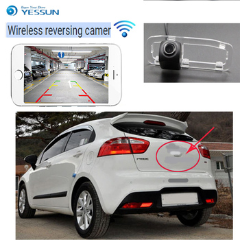 YESSUN car wireless rear view camera For KIA New Pride for Sephia Sport 2005~2011 New car  HD Wireless Car Rear View Camera