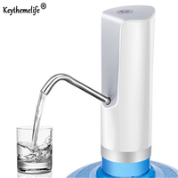 Keythemelife Easy Pump Water to the Bottle Electric Water Dispenser with Rechargeable Battery Drinking Water Bottles BF