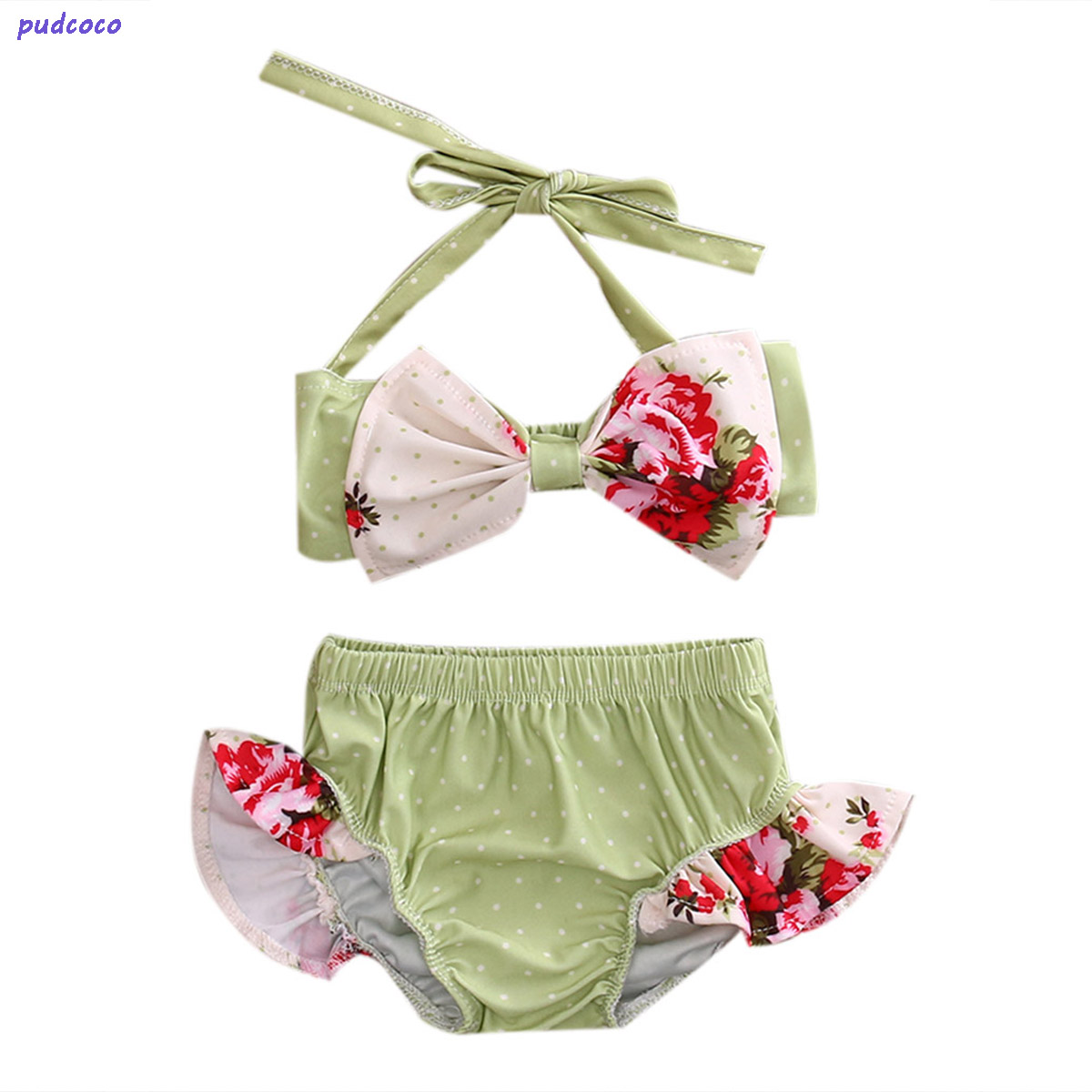 Reasonable Pudcoco 2019 Brand Summer Kids Baby Girl Bikini Suit Bowknot Flamingo Swimwear Beachwear Swimming 1-6y Swimwear