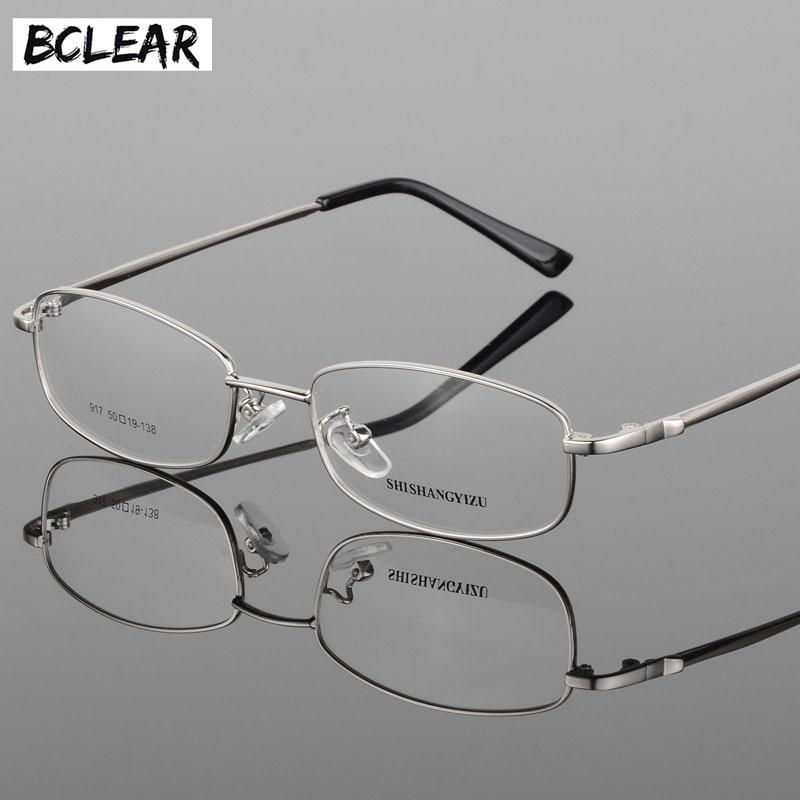 BCLEAR Mode Lunettes Brand Design Unisexe Classique En Métal Plein Cadre  Optique Cadre Lunettes Vintage Lunettes 63cccdbb6e59