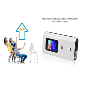 Image 5 - KuWFi 4G LTE Wireless Router 4G 5200mAH Power Bank Portable Wi fi Router With Sim Card Slot Support 10 Users