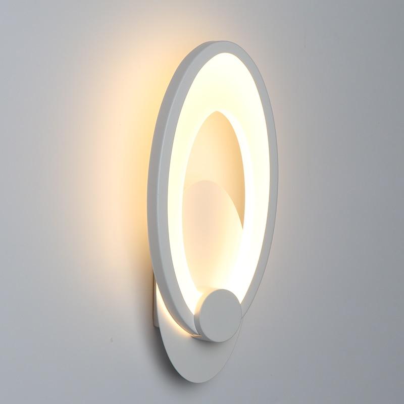 11 W LED lámpara de pared interior sala de estar comedor decoración iluminación dormitorio junto a la pared luz escalera pasillo luces Accesorios