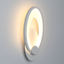 Iluminação led de 11w para parede, luminária de luz para decoração de sala de estar, sala de jantar e quarto em áreas internas, para escada e corredor