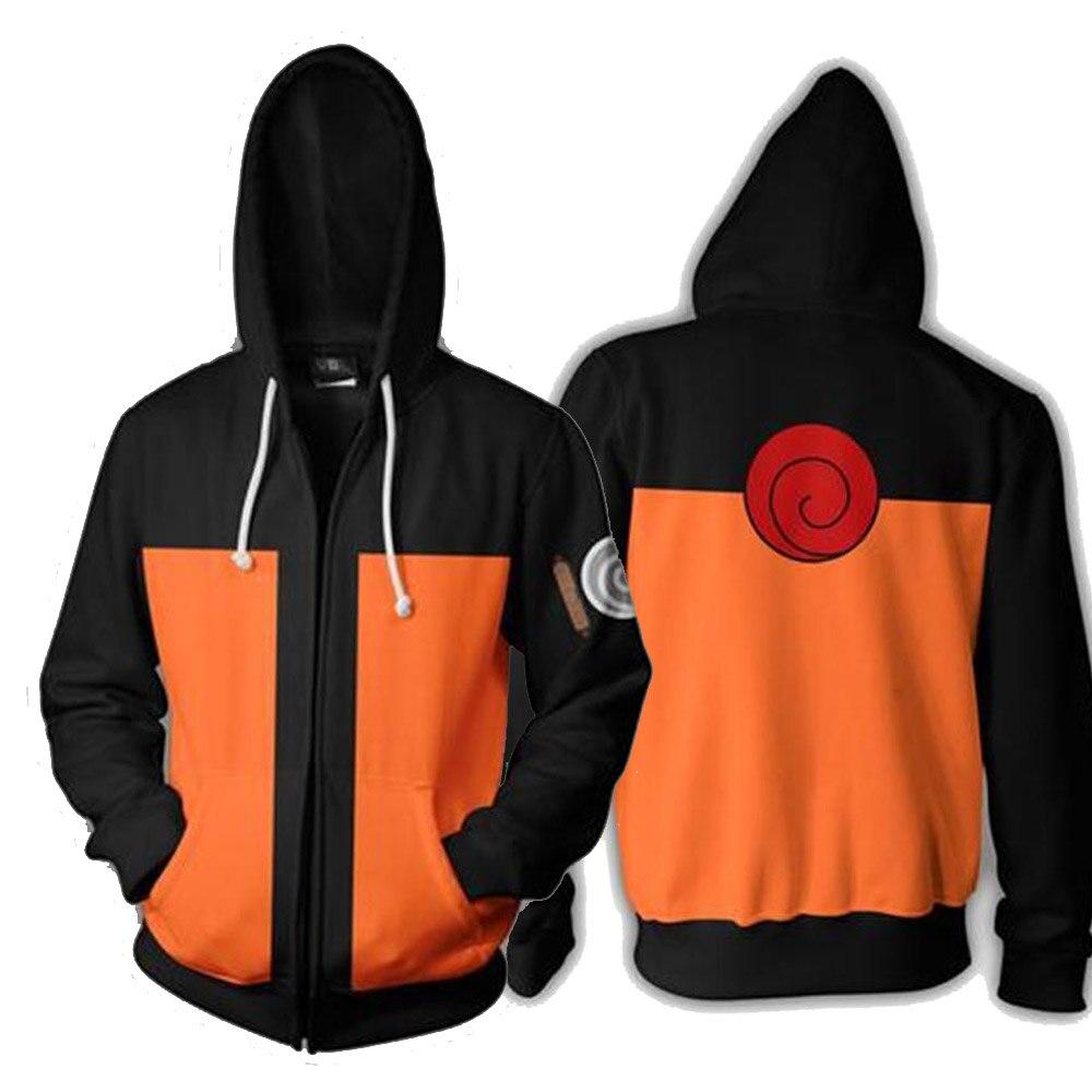 Anime Naruto 3D Hoodies Sweatshirts Uchiha Itachi Cosplay Hooded Outwear Boy Hokage Ninjia Coat Casual Pullover Jacket Luxtees (3) -