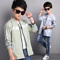 Teenage Boys Jackets Letter Thin Outdoor Coats For Boys Kids Sunscreen Clothing Long Sleeve Children Outerwear 4 6 8 10 12 14 Y