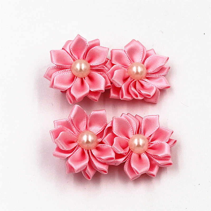 2pcs/lot Fashion baby girl  mini hair clip pin accessories for children hair flower barrette hairpin hairgrip headwear headdress