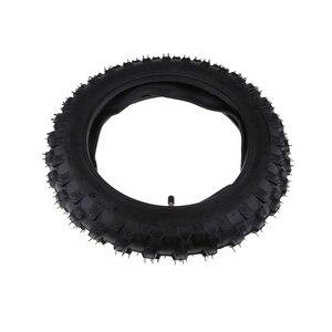 Image 5 - 2.50 × 10 オートバイゴムスクータータイヤ & インナーヤマハ PW50 ホンダ CRF50 XR50 2.50 10 タイヤなど溝容易ではない穿刺