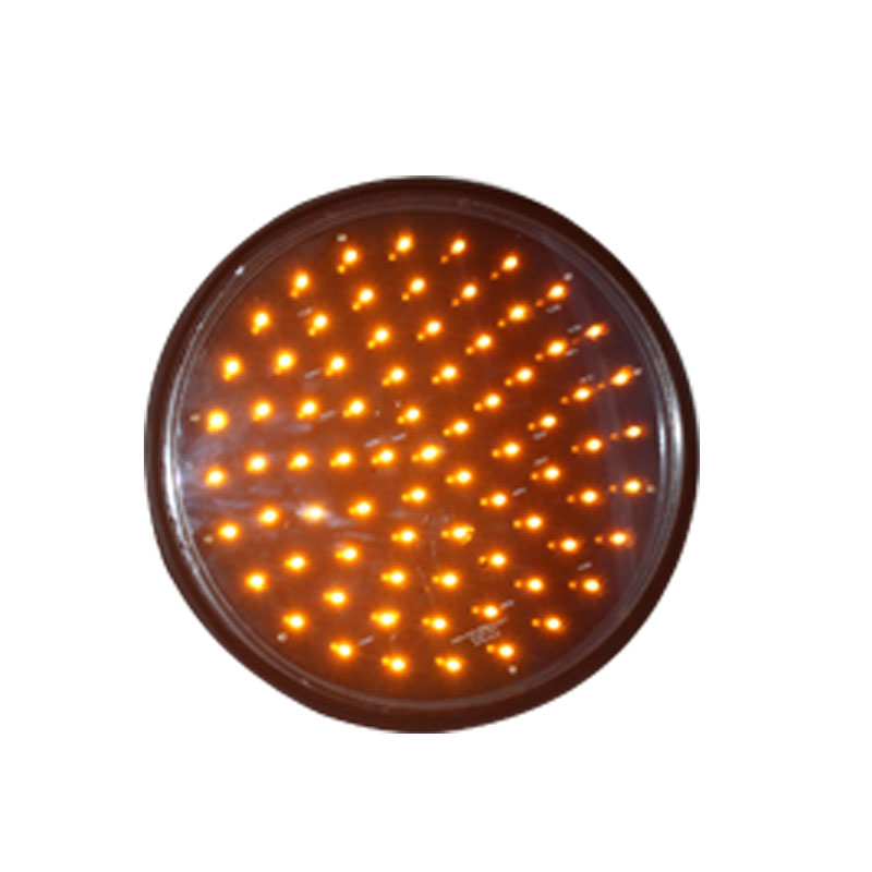 DC12V Traffic Light Parts 300mm High Brightness  Yellow LED Traffic Light Module