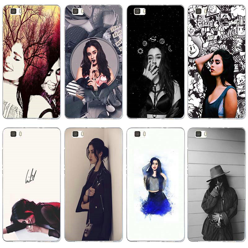 Soft TPU Phone Cases for Huawei P8 P9 P10 P20 P30 Y5 Y6 II Y7 Honor 6X 9 Mate 10 Pro Lite Bags <font><b>Lauren</b></font> Jauregui image