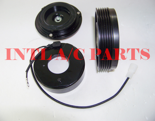 US $33 0 |7SBU16C air con ac compressor magnetic clutch assembly 5pk pulley  for BMW 3 SERIES E46 328i/5 SERIES E39/X3 CO 105116C 77396-in