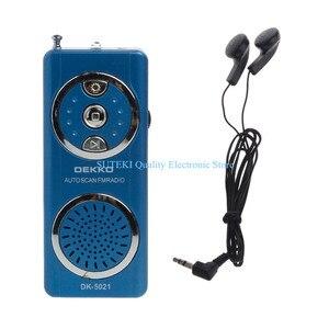 Portable Auto Scan FM Radio Re