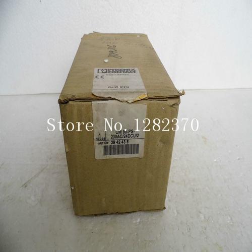 [SA] New original special sales Phoenix power supply CM 90-PS-230AC / 24DCU / 2 spot
