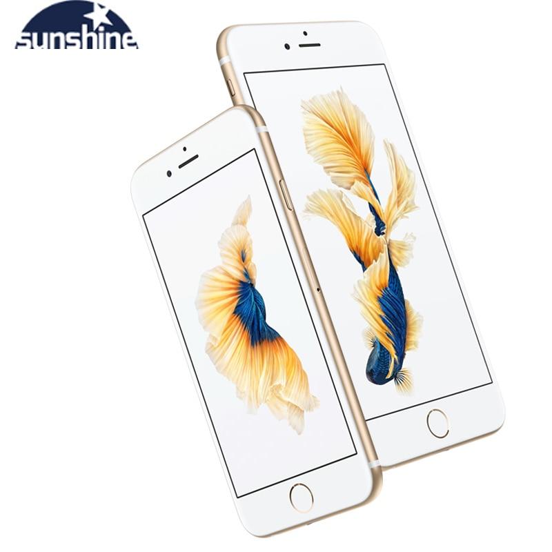 Apple IPhone 6S/iPhone 6S Plus Original Unlocked Mobile Phone 12.0MP 2G RAM 16/32/64/128G ROM 4G LTE Dual Core WIFI Cell Phones