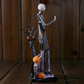 SCI-FI Revoltech Series NO.005 Jack Skellington The Nightmare Before Christmas PVC Action Figure Collectible Model Toy 18.5cm