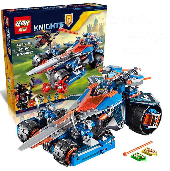 LEPIN 14012 Future Nexo Knights Clay's Rumble Blade Building Block Minifigure Compatible With Legos