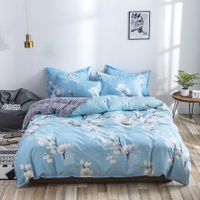 2019 latest Bedding Set 2/3/4pcs Bedclothes include Duvet Cover Bed Sheet Pillowcase king queen full twin bed Home Textiles(China)