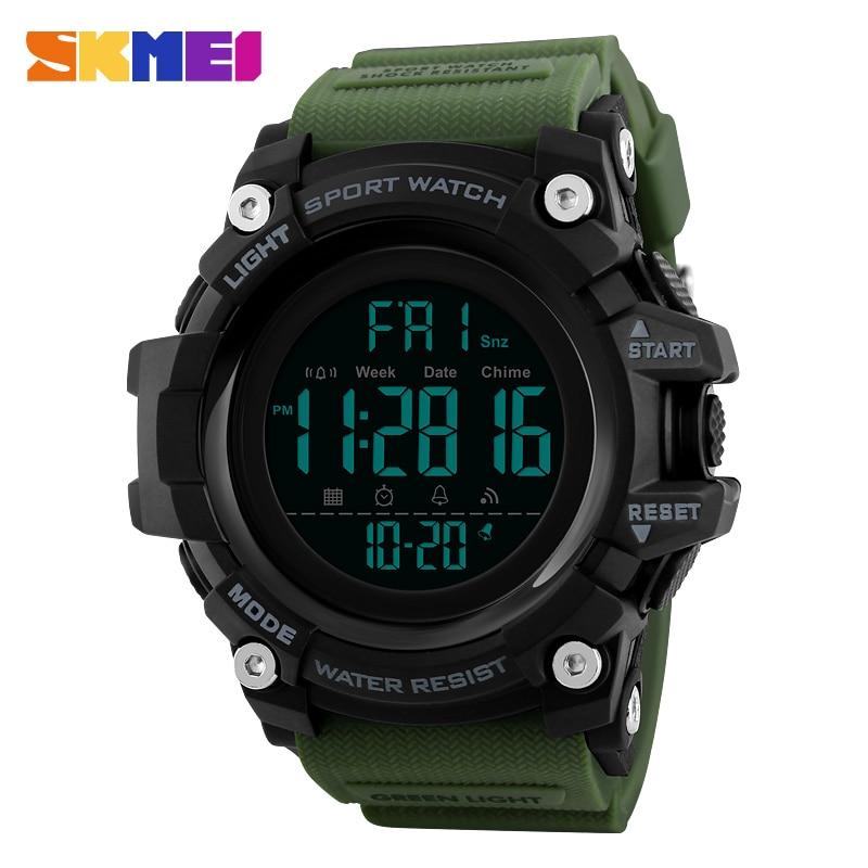 Clever Sport Uhren Männer Outdoor Fashion Digitaluhr Multifunktions 50 Mt Wasserdichte Armbanduhren Mann Relogio Masculino Skmei 2018