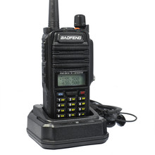 BF-R760 waterproof ham radio waterproof IP 67 1800mAh battery walkie talkie 10 km for hunting professional outdoor radio R760