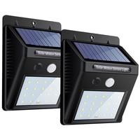 새로운 풍경 20 30 48 태양 전지 배터리와 야외 램프에 대 한 태양 빛 led 태양 에너지 모션 센서에 야외 조명