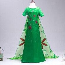 Kleid elsa grun