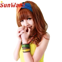 Garment Fashion Cross Double Color Novelty Lovely Cross Wide Hair Band Hair Accessories