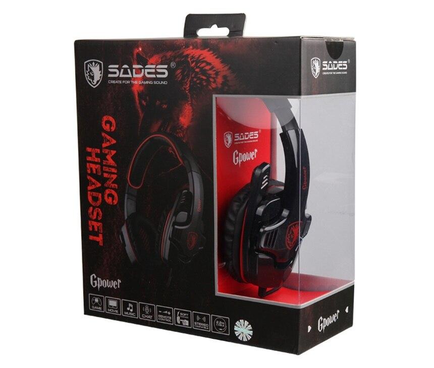 Sades Wolfang Gaming Headset USB 7.1 Sonido envolvente Bajo Juego - Audio y video portátil - foto 6