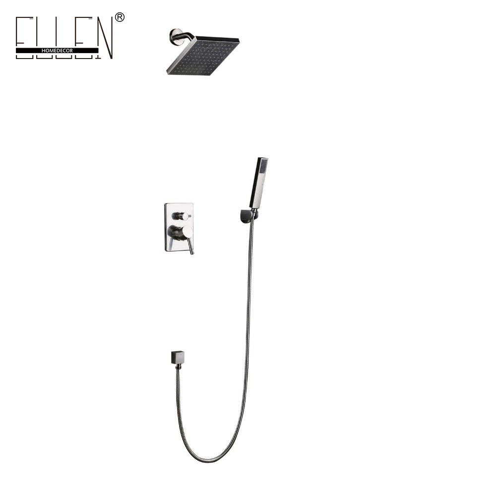 Square Shower Faucet Sets 8 Rainfall Bath Shower mixer Nickel Brushed Shower Bath with Hand Shower HY3026Square Shower Faucet Sets 8 Rainfall Bath Shower mixer Nickel Brushed Shower Bath with Hand Shower HY3026